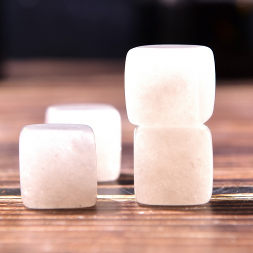White Jade Whisky Stone Ice Cube Whiskey Stone