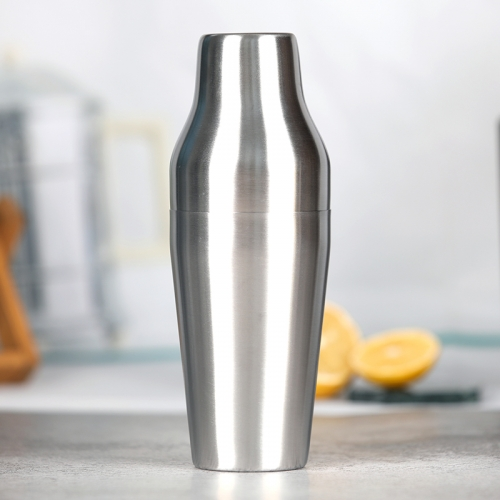 600ml Brushed French Shaker Parisian Shaker