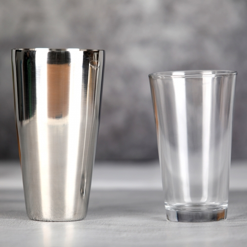 400/750ml Glass Boston Shaker