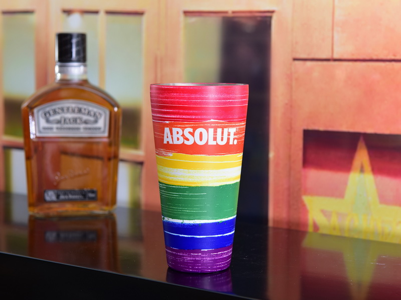 Absolut Rainbow Cocktail Shaker