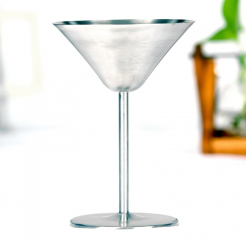 170ml Stainless Steel Martini Cup Martini Glass Goblet