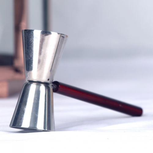 20/40ml Stainless Steel Double Jigger with Long Stem