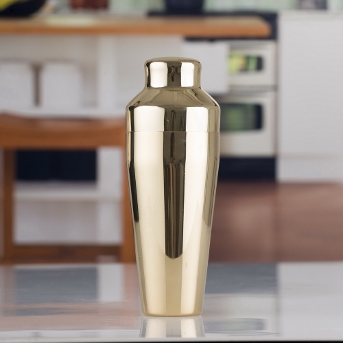 550ml Golden Plated French Shaker Parisian Shaker