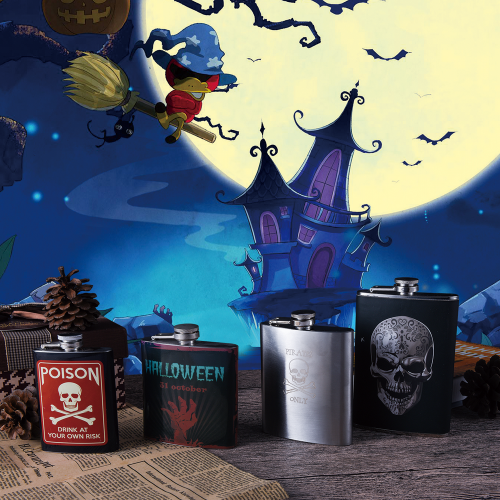 Halloween Hip Flask Series Customized Holiday Gift Series