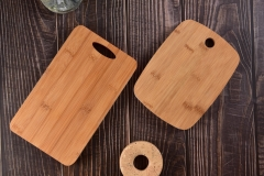 Double-sided Bamboo And Plastic Cutting Board Chopping Board