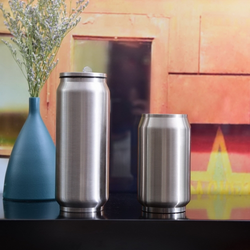 300ml 500ml Coke Cup Double Wall Stainless Steel Cup Coke Can Cup
