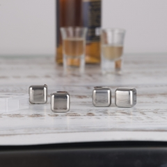 SS304 Whiskey Stone Ice Cube Stainless Steel Whisky Stone
