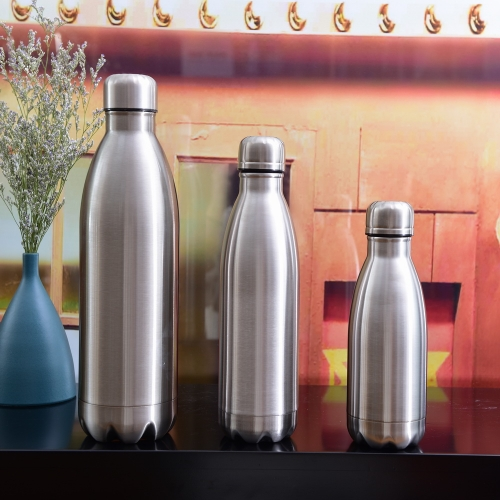 Double Wall Vacuum Flasks Drinking Flask Set Of 3 Thermos Flask Set