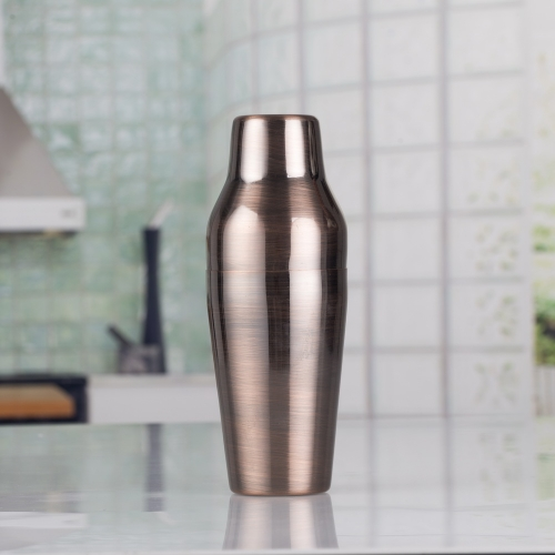 600ml Bronze Brushed French Shaker Parisian Shaker