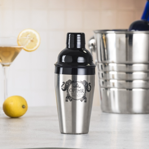 550ml Stainless Steel Cocktail Shaker Painted And Printed