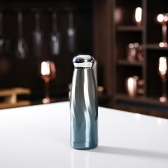 480ml New Vacuum Flask Fashion Double Wall Drinking Flask With Skid-proof Silicone bottom