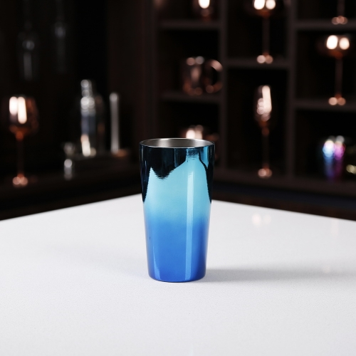 500ml Blue Drinking Flask Double Wall Vacuum Flask Stainless Steel Mug