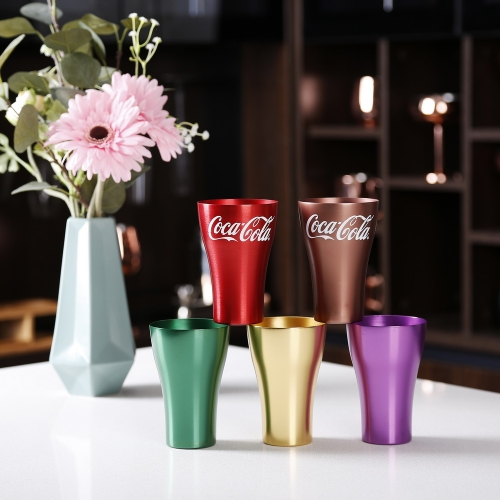 330ml Aluminum Coke Cup Al Party Cup Beer Cup
