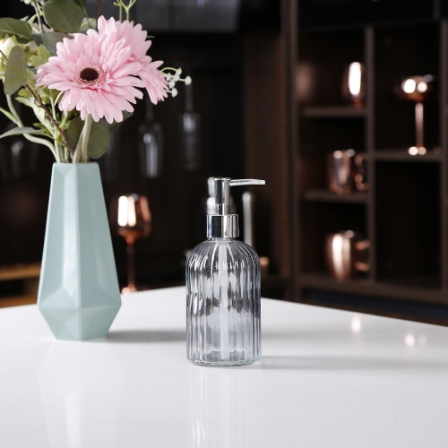 Glass Marble Soap Dispenser Soap Pump Dispenser