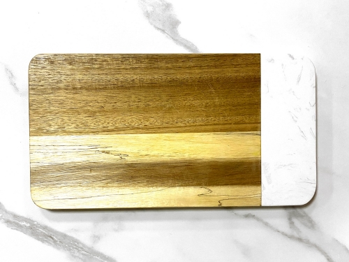 Marble Cutting Board Chopping Board Marble And Wood