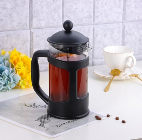 1000ml French Press Coffee Maker With Plastic Cover